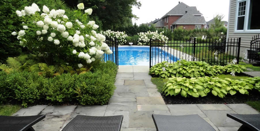 Am nagement paysager de votre cour arri re ladouceur for Amenagement paysager terrasse