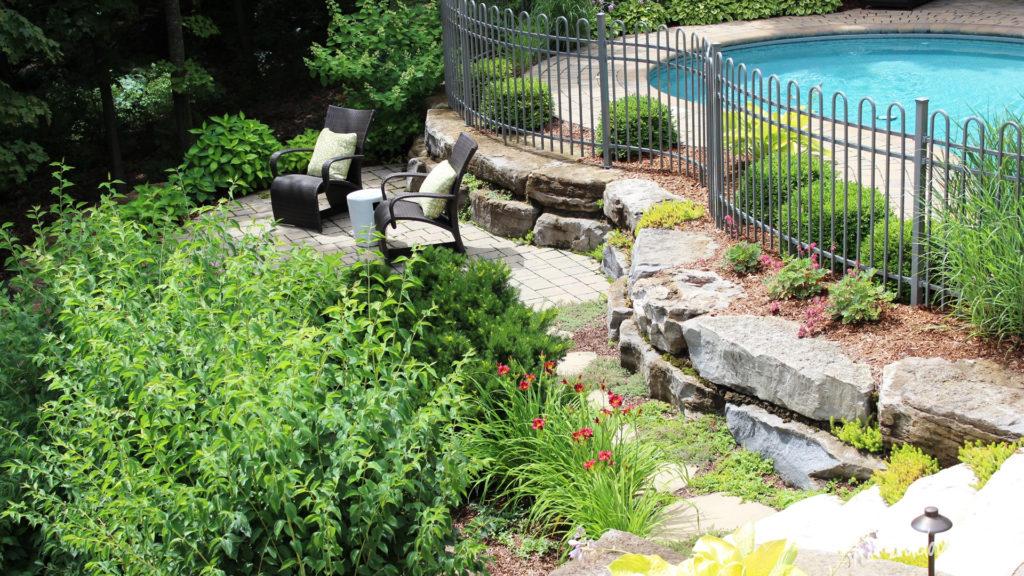 Am nagement paysager de votre cour arri re ladouceur - Amenagement paysager piscine ...