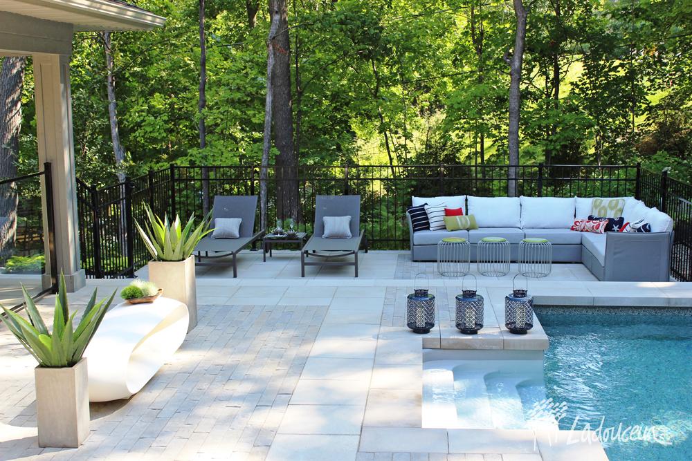 Am nagement paysager de votre cour arri re ladouceur for Filtreur piscine creusee